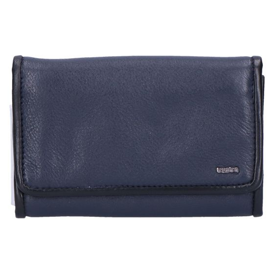 001-303 Ladies wallet blue/black