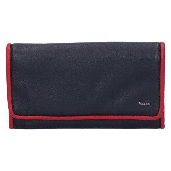 001-403-15 Ladies wallet black red