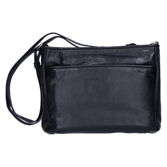 005-450 Tas soft zwart leer