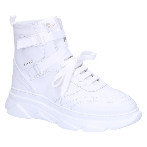 CPH45 Sneakerboot white vitello