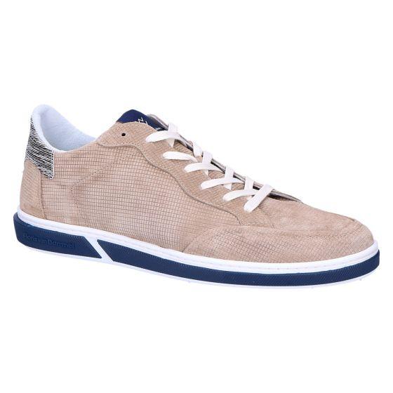 13350/12 Sneaker sand printed suede