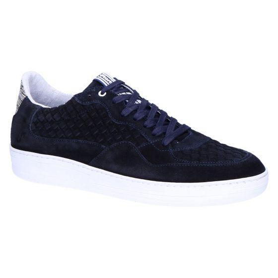 16265/30 Sneaker darkblue suede plait