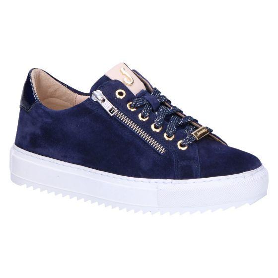 22.008 Maud Sneaker blauw suede