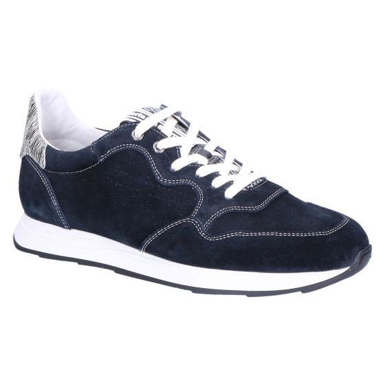 16446/01 Sneaker darkblue suede