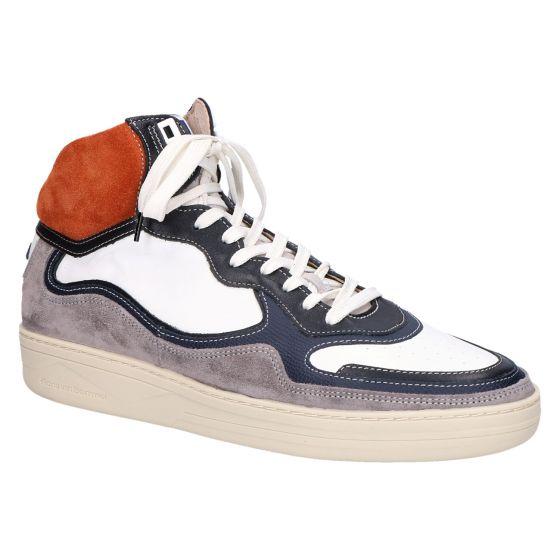 20371/04 Sneakerboot orange suede multicolor