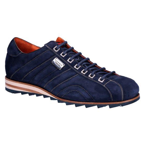 0894 Sneaker velour dark blue oceano