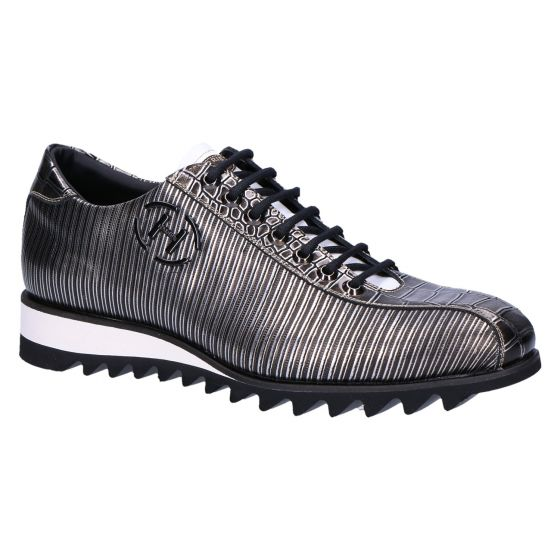 Steel Sneaker metal nero shade cocco