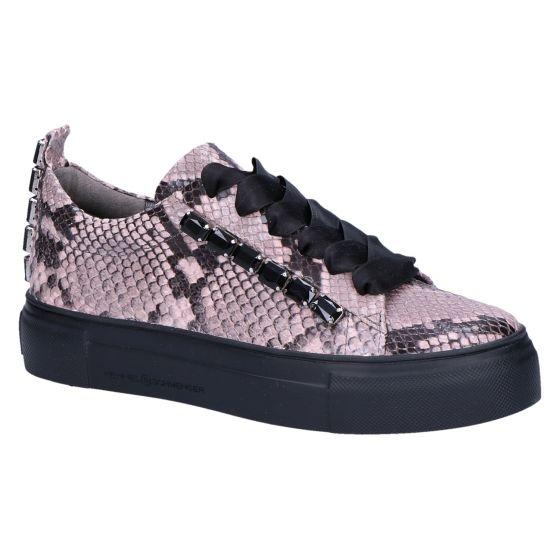 21-22440 Sneaker rose/black snake