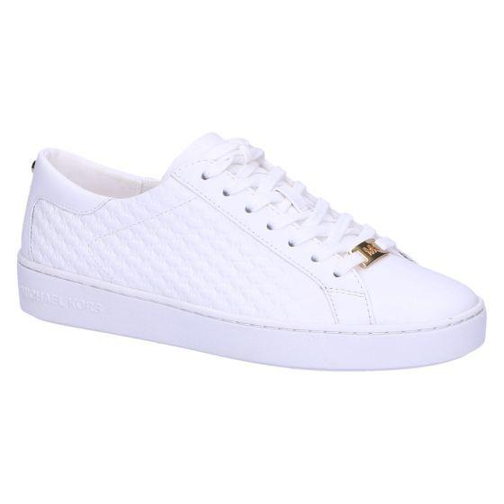 Colby Sneaker optic white matelasse