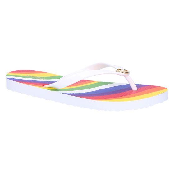 Michael Kors MK Flip Flop rainbow