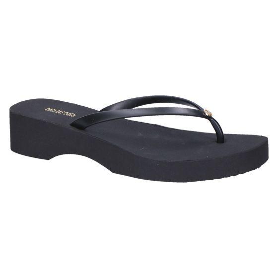 Michael Kors Lilo Flip Flop black