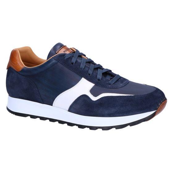 22147 Sneaker crosta azul mugron bianco