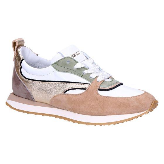 Haute Sneaker beige/salie/goud