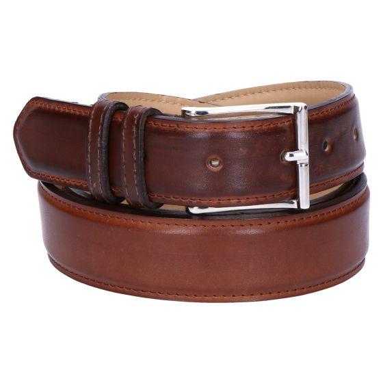 Belt Riem cognac leather