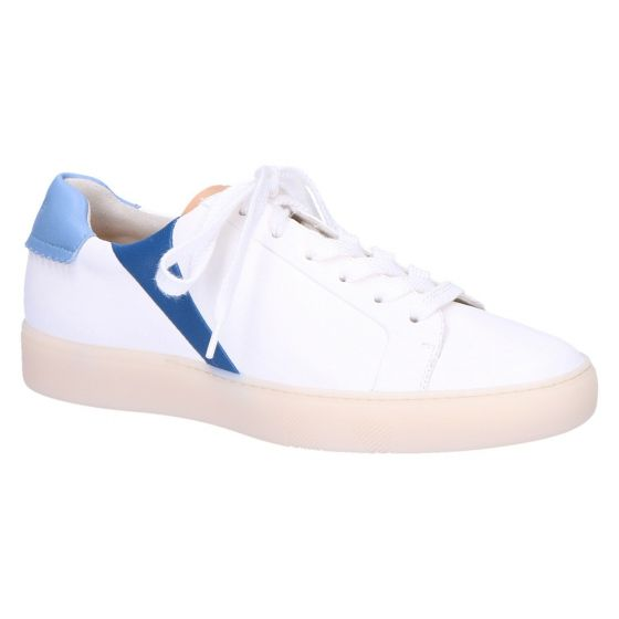 4956 Sneaker off white/denim