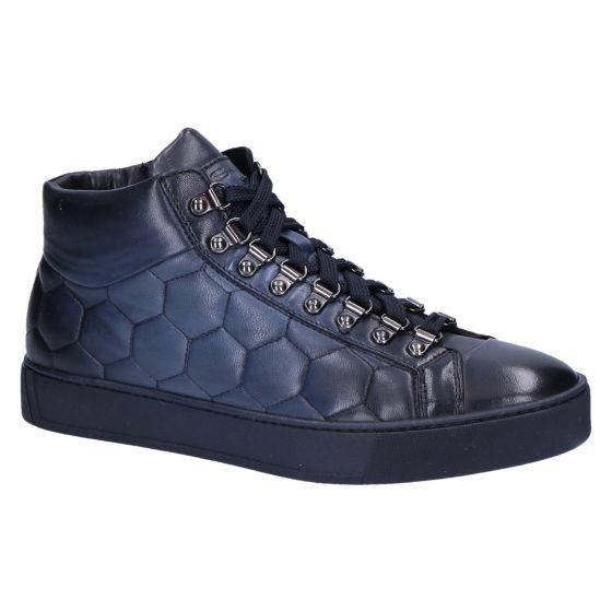 21151 Sneakerboot hexagon blue