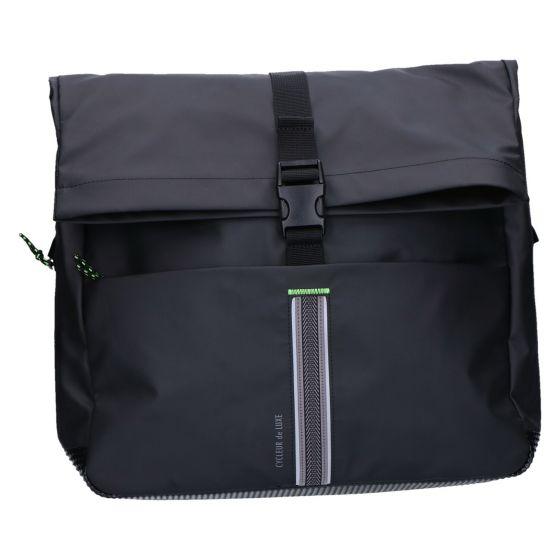 Tourmalet Messengerbag black 35x42x13