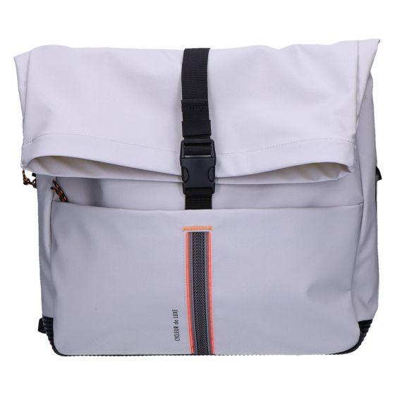Tourmalet Messengerbag grey 35x42x13