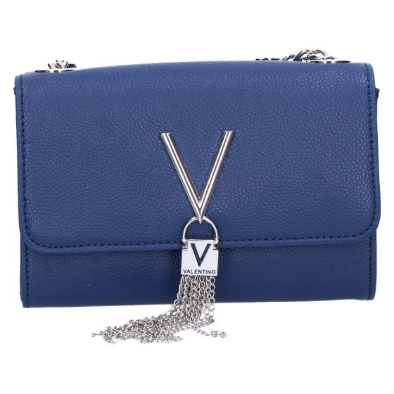 Divina Clutch blauw 17x11.5x4