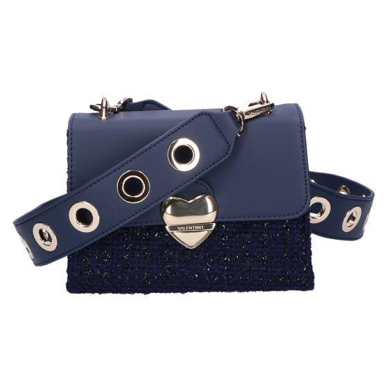 Guitar Satchelbag blu tweed 15x19x7 cm