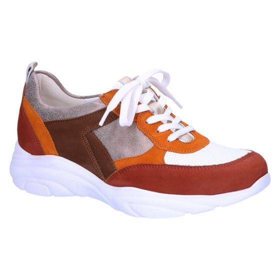 740001 H-Anita Sneaker cognac wit multi