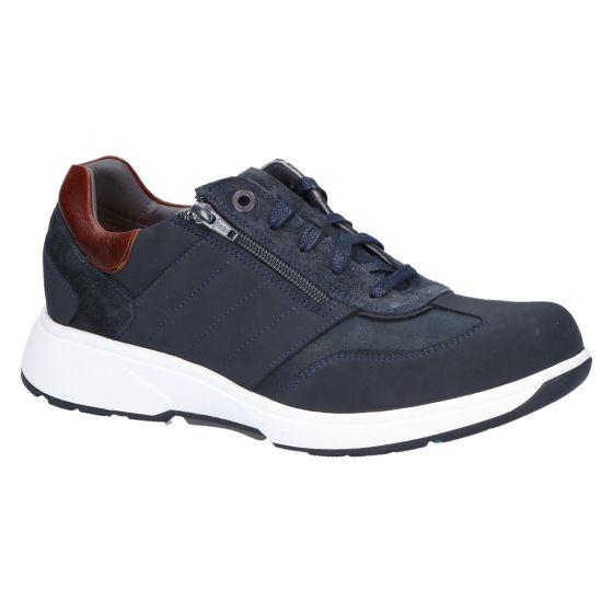 30405.2.220 Dublin Sneaker navy suede combi