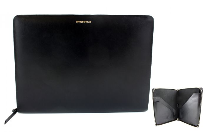 Galax Laptop Cover black leather