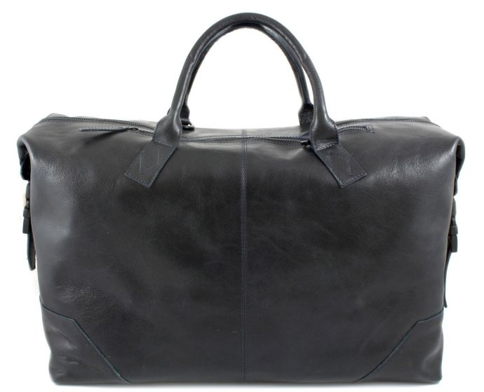 Supreme Day Bag navy leather