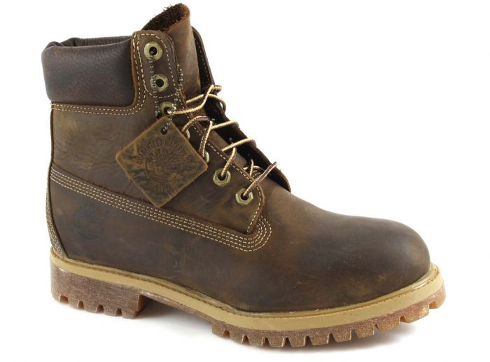 """27097 Classic 6""""Boot brown burnished"""