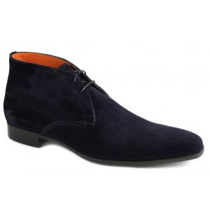 7416 Veterboot darkblue suede