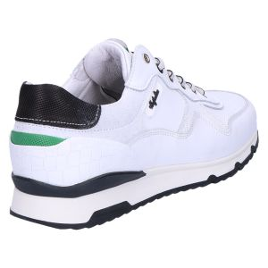 Mazoni Sneaker white black green