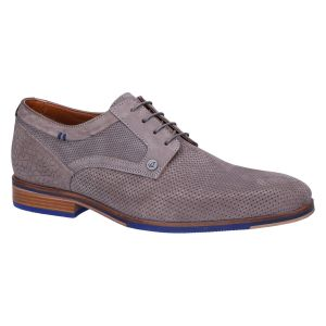 Mike Veterschoen light grey nubuck print