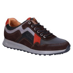 Rebound Sneaker brown black brick