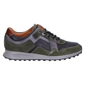 Rebound Sneaker black grey green