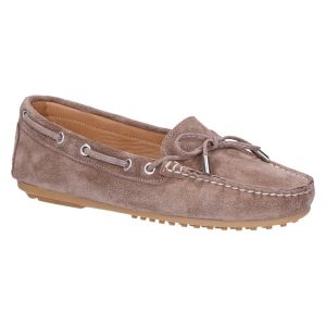 03-003 Mocassin taupe suede