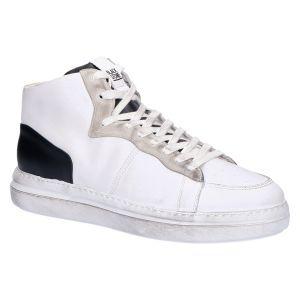 WG88 Sneakerboot white black leather