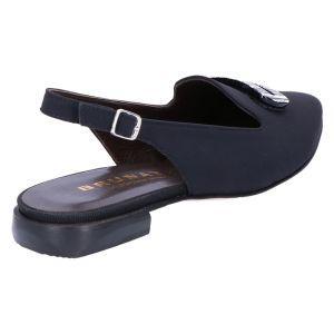 11553 Slingback zwart seta