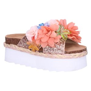 BES041 Slipper plateau multi flower