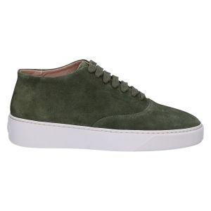 CPH601M  Sneaker dark green suede