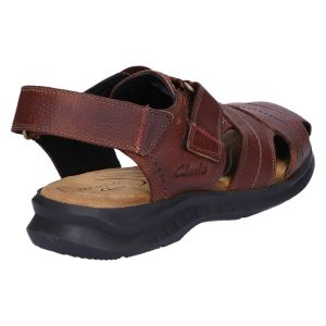 Hapsford Cove Sandaal brown tumbled leather