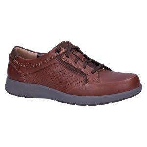 Un Trail Form2  Veterschoen mahogany leather