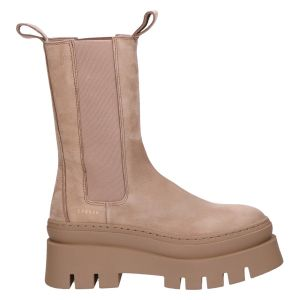 CPH685 Chelseaboot nabuc taupe