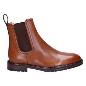 Camplin Chelseaboot cognac calf