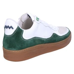 16271/02 Sneaker darkgreen multi suede combi