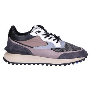16359/01 Sneaker taupe textile combi