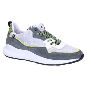 16384/00 Sneaker silver grey lime textile