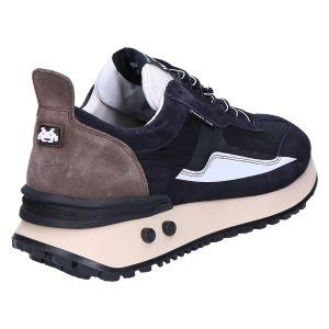 16424/00 Sneaker black combi textile