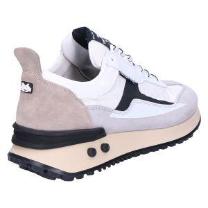 16424/01 Sneaker white combi textile
