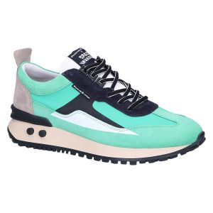 16424/02 Sneaker turquoise combi textile