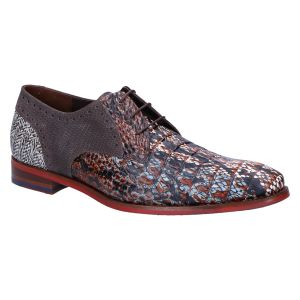 18107/33 Veterschoen cognac croco multi
